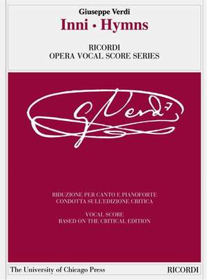 Verdi: Hymns (Crit.Ed.)