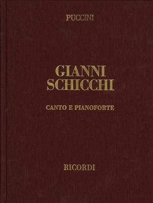 Puccini: Gianni Schicchi (English & Italian text)