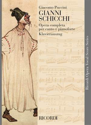 Puccini: Gianni Schicchi (German & Italian text)