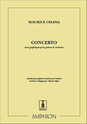 Ohana: 3 Graphiques (Guitar Concerto)