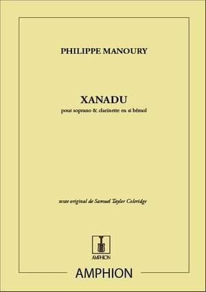 Manoury: Xanadu Op.20 (sop)