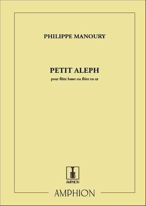 Manoury: Petit Aleph Op.12