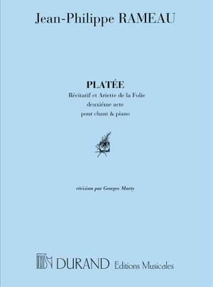 Rameau: Air de 'Platée': Récit et Air de la Folie (sop)