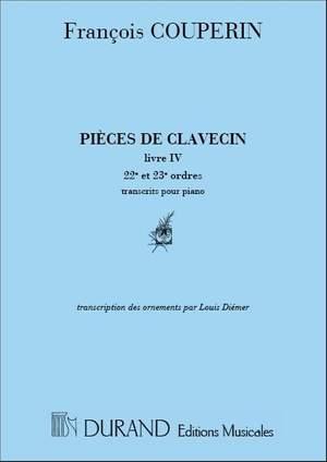 Couperin: Pièces de Clavecin Vol.4, Book 2