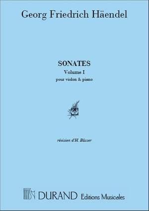 Handel: Sonatas Vol.1
