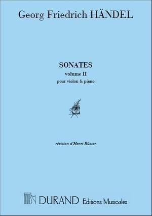 Handel: Sonatas Vol.2
