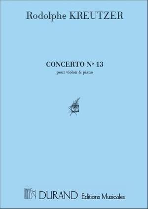 Kreutzer: Concerto No.13 in D major