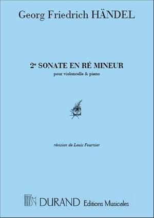 Handel: Sonata No.2 in D minor