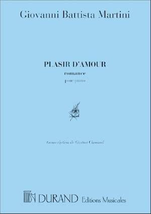 Martini: Plaisir d'Amour (Durand)