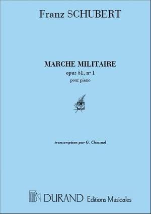 Schubert: Marche militaire Op.51, No.1 (ed. G.Choisnel)