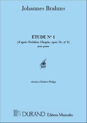 Brahms: Etude, d'après Chopin - Etude Op.25, No.2