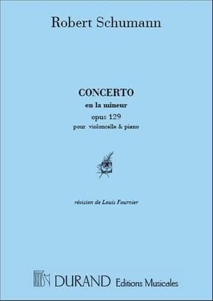 Schumann: Concerto Op.129 in A minor