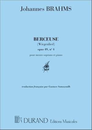 Brahms: Berceuse (med)