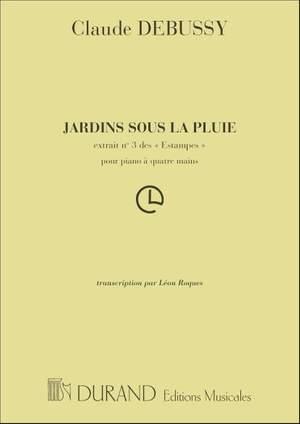 Debussy: Jardins sous la Pluie