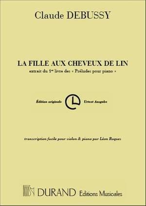 Debussy: La Fille aux Cheveux de Lin (transc. L.Roques)