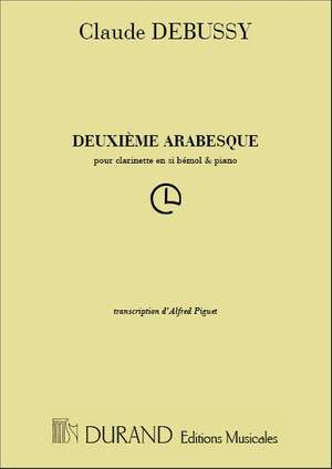 Debussy: Arabesque No.2