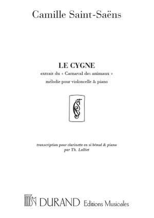 Saint-Saëns: Le Cygne