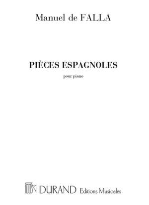 Falla: Pièces espagnoles