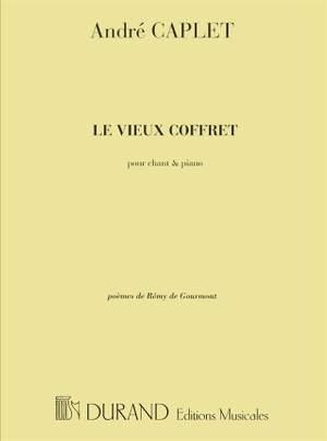 Caplet: Le Vieux Coffret, 4 Poèmes (bar)
