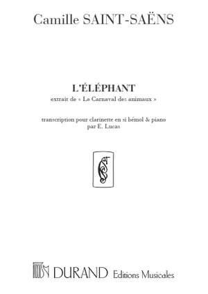 Saint-Saëns: L'Eléphant