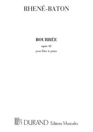 Rhené-Baton: Bourrée Op.42