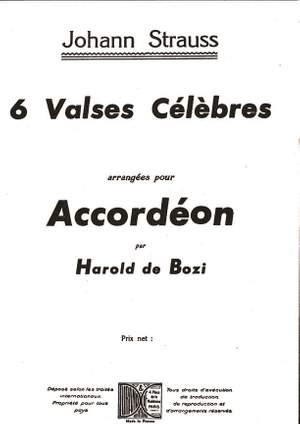 Strauss: 6 Valses