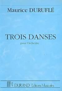 Duruflé: 3 Danses pour Orchestre Op.6