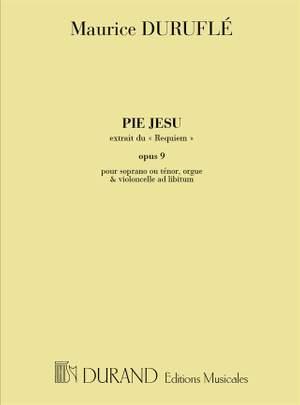 Duruflé: Pie Jesu from 'Requiem' Op.9 (sop/ten)