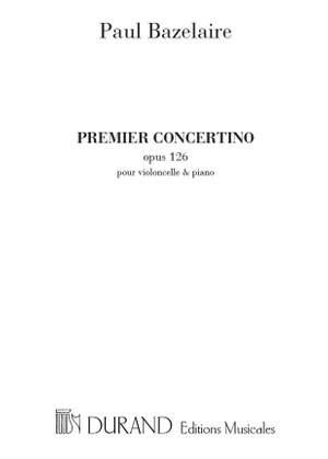 Bazelaire: Concertino No.1, Op.126