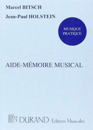 Bitsch: Aide-Mémoire musical