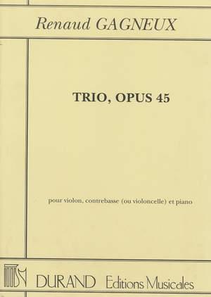 Gagneux: Trio Op.45