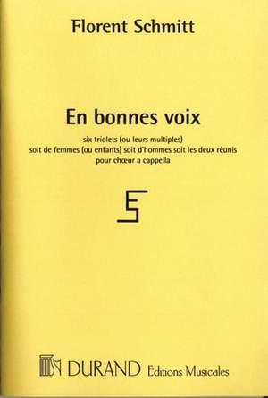 Schmitt: En Bonnes Voix Op.91