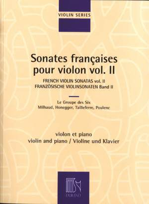 Various: Sonates françaises Vol.2