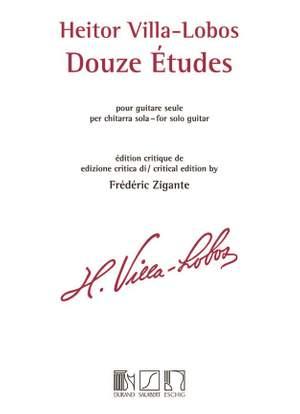 Villa-Lobos: 12 Etudes (Crit.Ed)