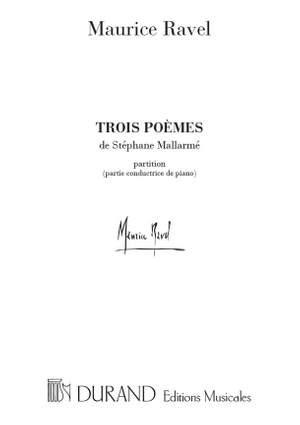 Ravel: 3 Poèmes de Stéphane Mallarmé