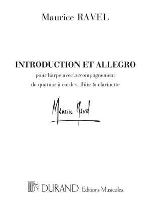 Ravel: Introduction et Allegro