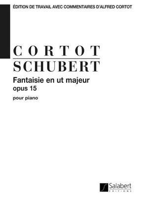 Schubert: Fantaisie Op.15 in C major (ed. A.Cortot)