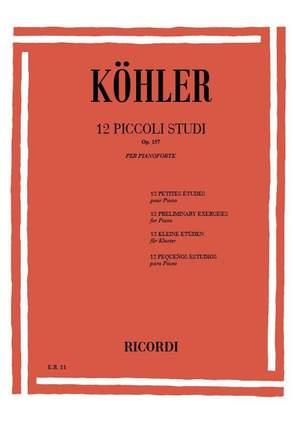 Köhler: 12 Piccoli Studi per l'Avviamento alla Velocità Op.157 Product Image