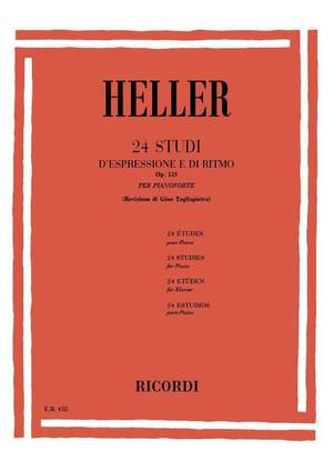 Heller: 24 Studi d'Espressione e di Ritmo Op.125