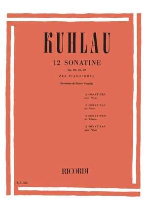 Kuhlau: 12 Sonatinas Op.20, Op.55 & Op.59 (ed. E.Pozzoli) Product Image