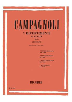 Campagnoli: 7 Divertimenti o Sonate Op.18
