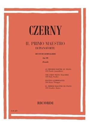 Czerny: Le Premier Maitre du Piano Op.599 (Ricordi)