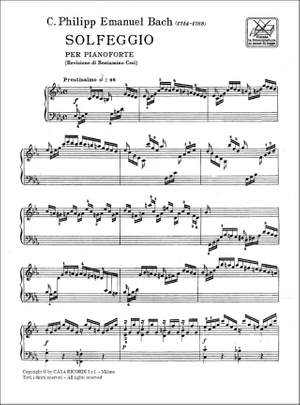 Bach: Solfeggio