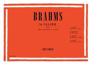 Brahms: Waltzes Op.39