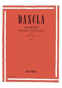 Dancla: 36 Studi melodici e facilissimi Op.84