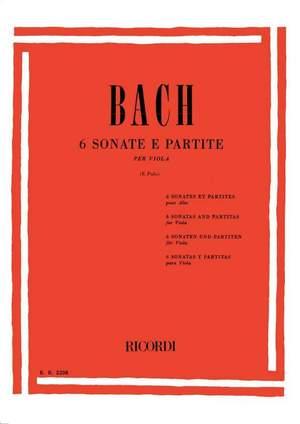 Bach: Sonatas & Partitas BWV1001 - BWV1006 (transc. E.Polo)