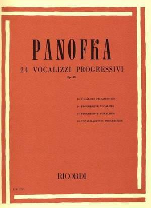 Panofka: Vocalises Op.85