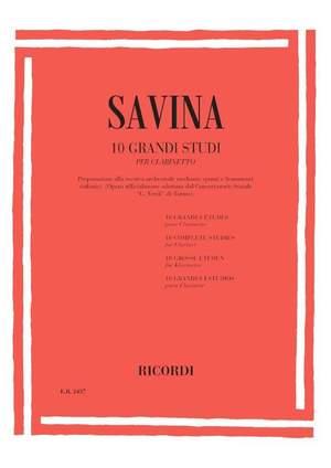 Savina: 10 Grandi Studi