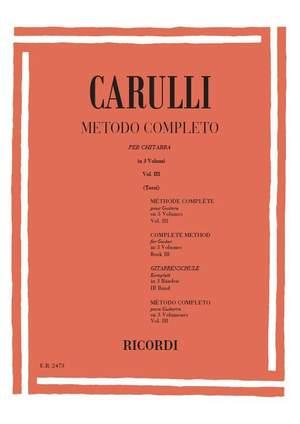 Carulli: Method Vol.3