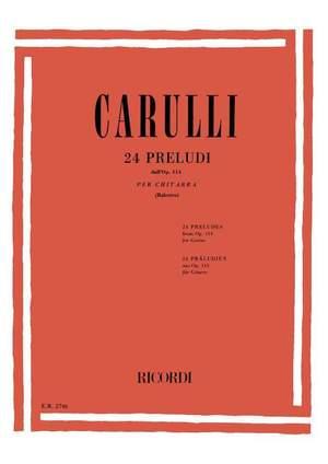 Carulli: 24 Preludes Op.114